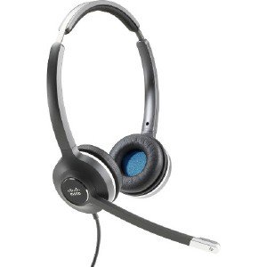 bcda1a8c0ff Cisco Headset 532 (Wired Dual with Quick Disconnect coiled RJ Headset  Cable) - Stereo - Quick Disconnect - Wired - 90 Ohm - 50 Hz - 18 kHz - Over -the-head ...