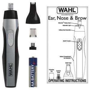 Wahl 2 Headed Lighted Nose Trimmer - 5546200