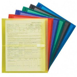 Smead Manufacturing Company 89669 Assortment Poly Envelope