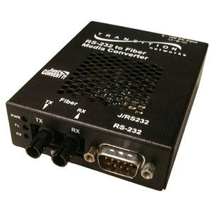 Transition Networks Just Convert-It Rs232 Copper To Fiber Stand-Alone Media Converter JRS232CF01NA