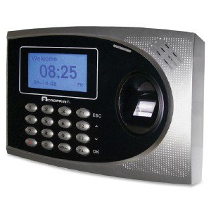 Acro Print Time Recorder Time Q-Plus Biometric Attendan 010250000