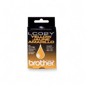 Brother 02y Yellow Ink Cartridge LC02Y