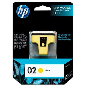 Hewlett Packard Hp 02 Yellow Original Ink Cartridge C8773WN140