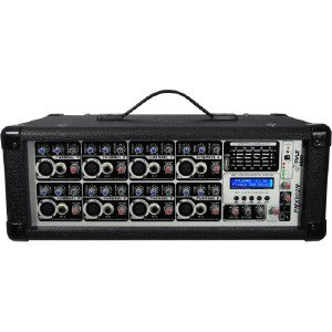 Pyle 8-Channel 800 Watts Powered Mi PMX802M