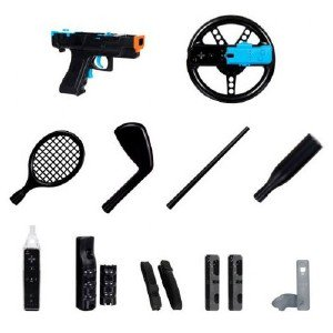 Dreamgear 15 In 1 Player'S Kit Plus For Wii DGWII3123