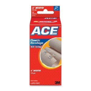 3m Elastic Bandage With Clips 207313