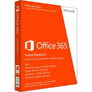 Microsoft Office 365 Home 32/64-bit AAA04258