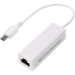 4xem Micro Usb To 10/100mbps Ethernet Adapter 4XMICROUSBENET