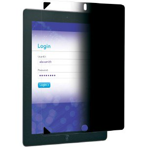 3m Mpf830130 Easy-On Privacy Filter For Apple Ipad 2nd/3rd/4th Gen. - Portrait