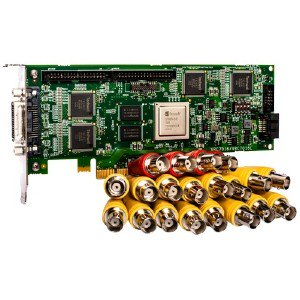Analog, 16 Channel Encoder Pcie Card For Lenovoemc Nvr With Milesone Arcus