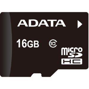 A-Data 16gb Premier Microsd High Capacity (Microsdhc) - Class 10/Uhs-I AUSDH16GUICL10R