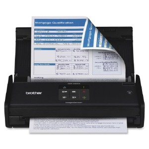 Brother computer input devices for Brother ds 920dw wireless duplex mobile color page scanner white