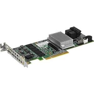 HighPoint SSD7110 NVMe RAID Controller - 12Gb/s SAS, Serial ATA/600