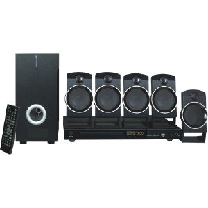 Naxa 5.1-Channel Home Theater DVD & Karaoke System ND859