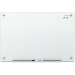 G9648w gbc office products group infinity glass magnetic marker board qrtg9648w - Gbc office products group ...