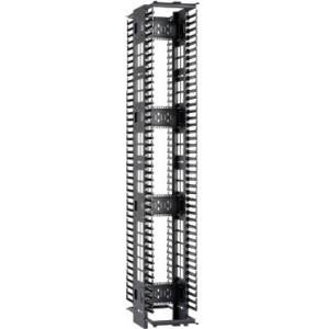 Cable Manager 1 Pack 45u Rack Black Panduit Wmpvf45e Cable Manager