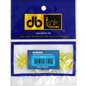 25-Pack DB Link ATM30A Atm Mini Fuse 30 Amps