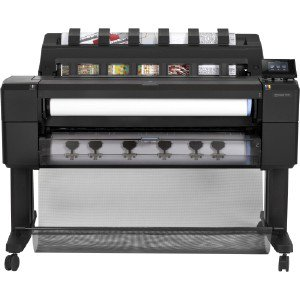Hewlett Packard Hp DesignJet T1530 36-in PostScript Printer with Encrypted Hard Disk L2Y24BBCB