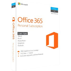 MICROSOFT Office 365 Personal Subscription + Exclusive Upgrades and New Features QQ200597