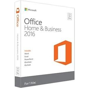 Microsoft Office 2016 Home & Business W6F00796