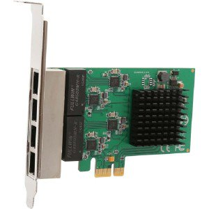 Syba 4 Port Gigabit Ethernet PCI-e x1 Network Interface Card SIPEX24042