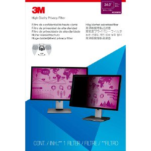 3m High Clarity Privacy Filter for 24' Widescreen Monitor (16:10) HC240W1B