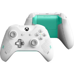 WL3-00082   Microsoft® Microsoft Xbox Wireless Controller - Sport White  Special Edition - Wireless - Bluetooth - Xbox One, Wl300082