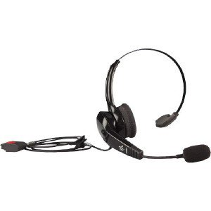 2c913f49252 Zebra HS2100 Headset - Mono - Mini-phone - Wired - 50 Hz - 8 kHz -  Behind-the-neck, Over-the-head - Monaural - Supra-aural - Noise Cancelling  Microphone ...