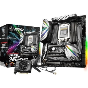 X399CREATION | Msi® Msi Meg X399 Creation Desktop Motherboard - Amd Chipset  - Socket Tr4 - Extended Atx - 1 X Processor