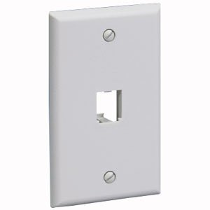 Panduit 1 Socket Mini-Com Classic Faceplate CFP1EI