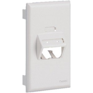 Panduit 1-Socket Snap-on Faceplate UIT70FV2IW