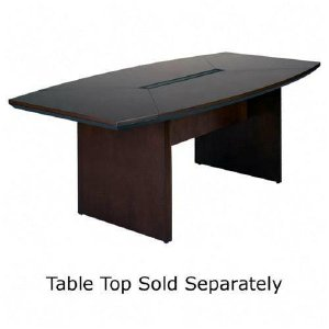 NCTLMAH Mayline Group Corsica Conference Table Base MLNCTLMAH - Conference table width