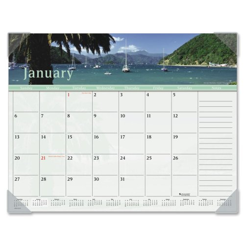 Dmd145 32 At A Glance 174 Harbor Views Monthly Desk Pad