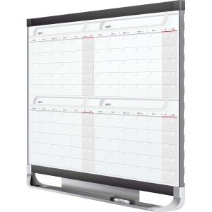 4mcp43p2 gbc office products group prestige 2 magnetic four month calendar board qrt4mcp43p2 - Gbc office products group ...