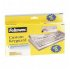 99680 Fellowes Antimicrobial Custom Keyguard Cover Kit - Supports Keyboard -...(more)