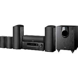 HT-S5800 | Onkyo® Onkyo Ht-s5800 5 1 2 3d Ready Home Theater System - 925 W  Rms - 1080p - A/v Receiver - Black - Dolby Hts5800