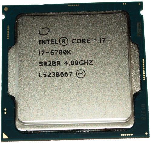 BX80662I76700K | Intel® Core I7 Quad-core I7-6700k 4 2ghz Desktop Processor
