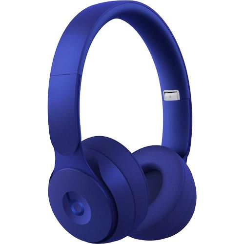 Beats By Dr Dre Solo Pro Wireless Headphones Stereo Wireless Bluetooth Over The Head Binaural Circumaural Noise Canceling Dark Blue Mrja2ll A 190198723390