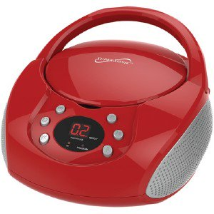 Supersonic Blth Prtbl Boombox Red SC515BTRED