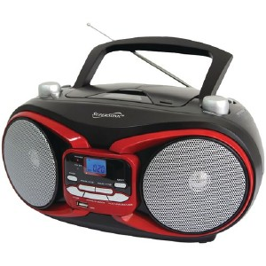 SUPERSONIC Port Audio System Red SC504RED