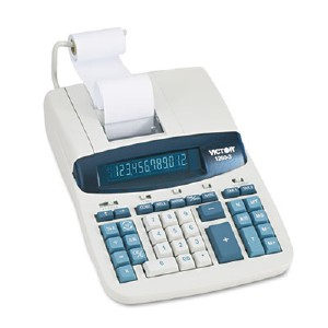 Victor Technology 12603 Commercial Calculator