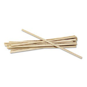 "1000 Stirrers//Box Royal Wood Wooden Coffee Stir Stirrers Sticks 5.5/"" Woodgrain"