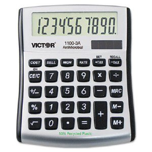 Victor Technology 11003a Mini Desktop Calculator