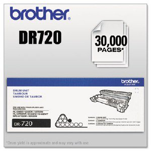 Brother Drum Unit (Yields Approx. 30,000 Pages) BRTDR720