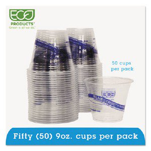 Eco-Products,inc. Bluestripe Cold Cups EPCR9PK