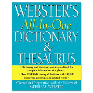 paperback merriam-websters intermediate dictionary Merriam webster the merriam-webster thesaurus, dictionary companion, paperback, 800 pages, multicolor.