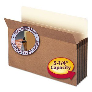 Smead Manufacturing Company 74234 Redrope File Pockets