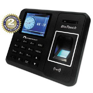 Acro Print Time Recorder Biotouch Time Clock, Hours/Minutes/Seconds, 6 X 1 1/2 X 5 010276000 ACP010276000 pg.1563.