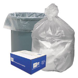 Webster Industries High Density Waste Can Liners GNT4348
