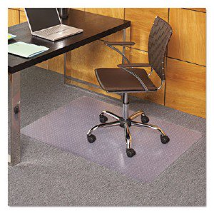 Es Robbins Everlife Chair Mat Home Office Carpeted Floor 44 Length X 36 Width X 85 Mil Thickness Rectangle Vinyl Clear 121821 Esr121821 Pg 202
